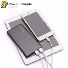 Pineng PN-951 10000 mAh Powerbank With Cable Li-Polymer Battery Portable External Power Supply for iphone6 6s 7 7plus Samsung S8