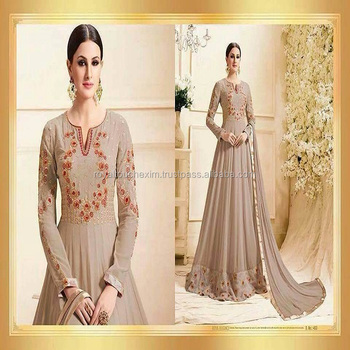 latest indian ladies party wear gown designs dresses