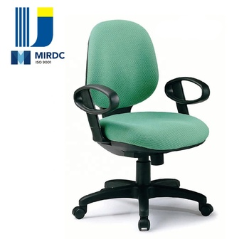 High end office furniture HIGH density PU foam armrest workstation office chair with synchronous mechanism 2666AX