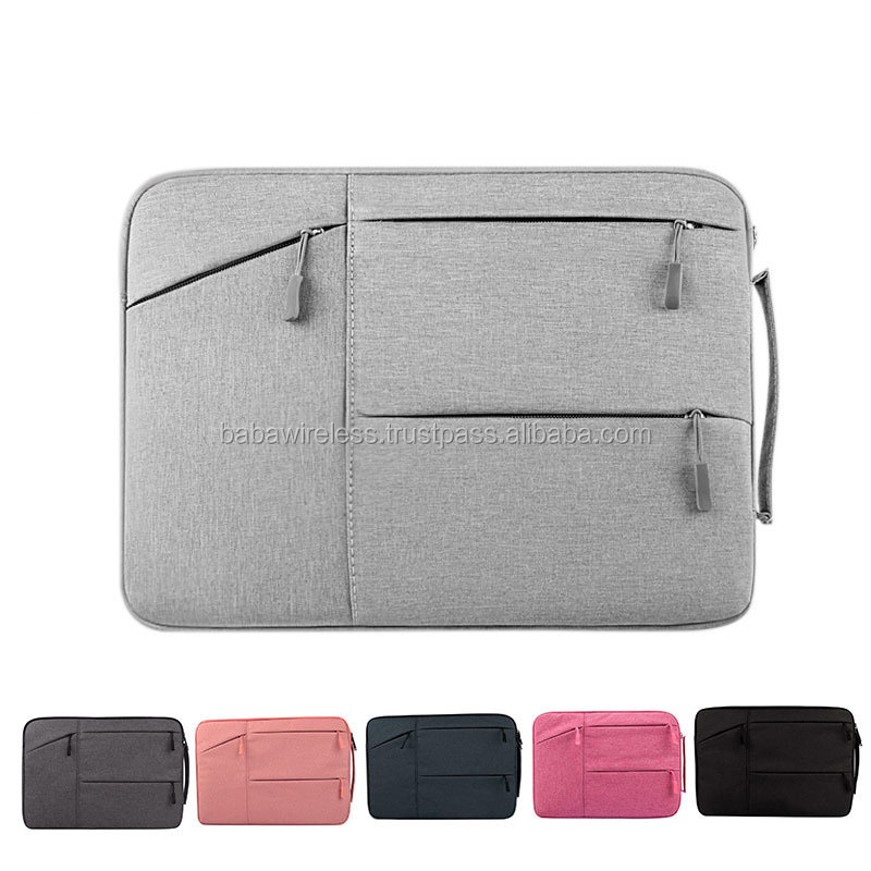Top quality lap office laptop lightweight computer bag for man Case Cover Bag with handle padded