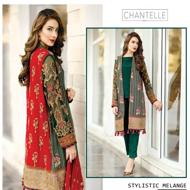 pakistani designer ladies suit latest fashion