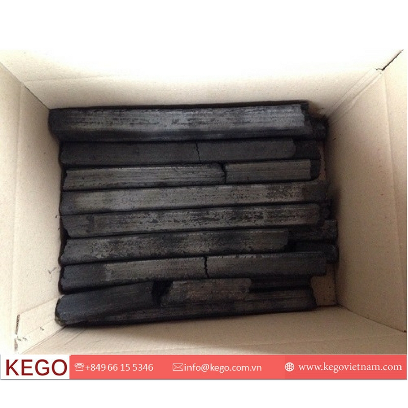 hot sale barbecue charcoal of hardwood sawdust from KEGO Vietnam