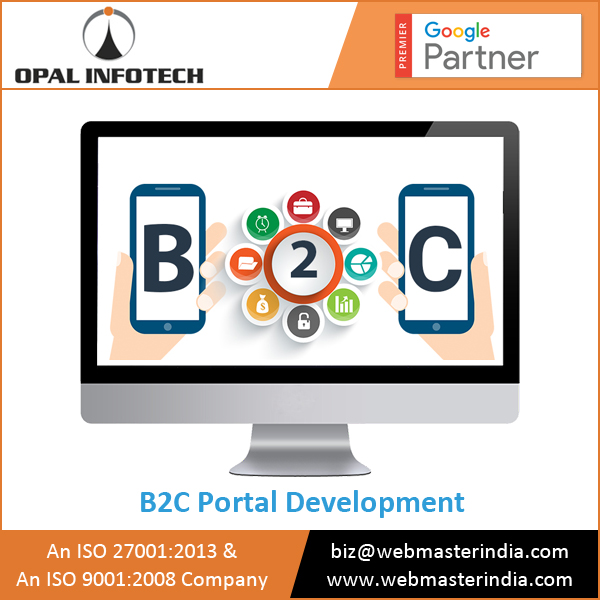 Leading B2C Portal Development Company Providing Enterprise Class Customised B2C Website Design Services