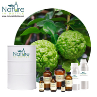 Organic Kaffir Lime Oil | Makrut Lime Oil | Citrus hystrix - 100% 100% Pure Essential Oils - Bulk Wholesale Price