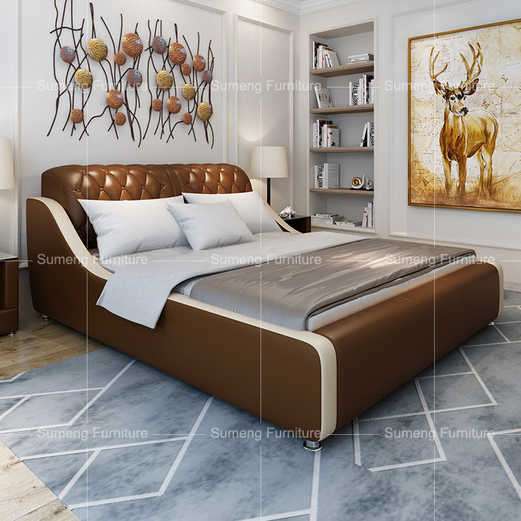 fashan modern cheap simple style italian bedroom furniture