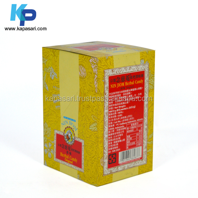 Medicine Packaging Box using Locked Bottom, Duplex Grey Board Waterbase Varnish