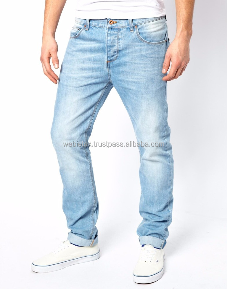 Men's Washed Jeans Pant, Jeans Factory In Bangladesh