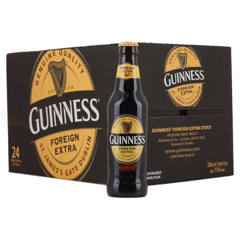 Guinness draught/stout beer/ cans and bottles in bulk for supplies