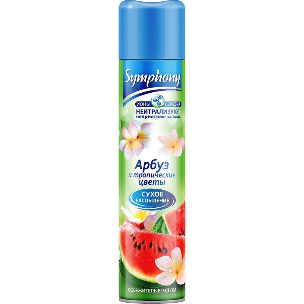 Symphony Water melon and tropical flowers, 300 ml Air freshener