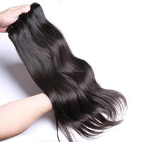 Direct factory 100% human super quality remy unprocessed natural 6a Cheap Virgin Brazilian Straight Hair