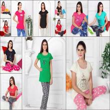 Gapujee Night Suit Hosiery Material for Women and Girls
