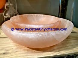 Best selling UNIQUE DESIGN HIMALAYAN SALT BOWLS & DISHES HANDCRAFTED