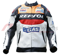 HS RACEWEARS Latest- Style Motorcycle Leather Man Jacket Motorbike Racing Top-Quality Genuine Leather Jacket