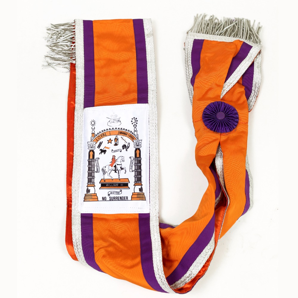 Masonic Regalia Sash Royal , William III Orange