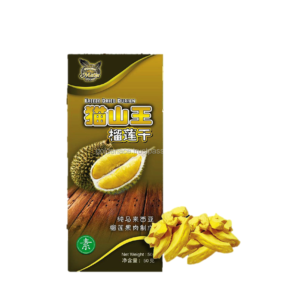 Metta Dried Freeze Durian Fruit