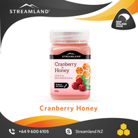 Royal honey for her New zealand 100% pure Cranberry honey