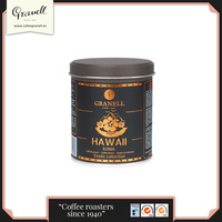100g GRANELL COFFEE BEANS TIN / EXOTIC HAWAII KONA