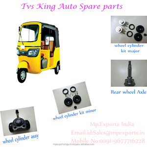 TVS TUK TUK THREE WHEELER SPARES TO MEXICO