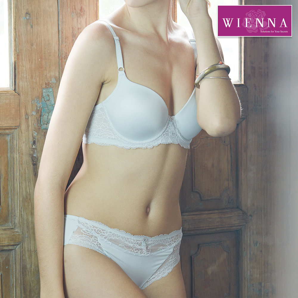 Wienna embrace lace seamless bra, smooth feel, comfortable underwire bra