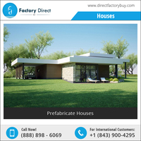 Low Cost Small Steel Prefabricated House Design / Prefab Homes / Modular Homes