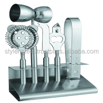 Stainless Steel Bar Tools Set