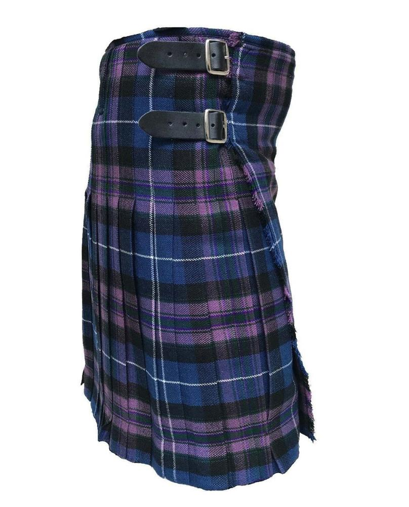 Pride of Scotland 8 Yard Kilts Scottish Men Kilts 16 oz, Casual Tartan Kilt