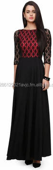 Women's Maxi Black Dress
