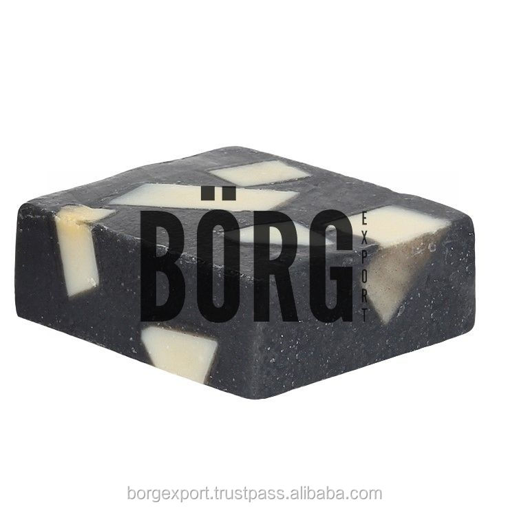 Sea Salt & Charcoal Handmade Soap from BORG EXPORT