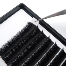 Individual Eyelash Extension 0.10mm 0.15mm 0.18mm 0.20mm Thickness D Curl <strong>Flat</strong> and classical Lashes Volume Eyelash Extensions