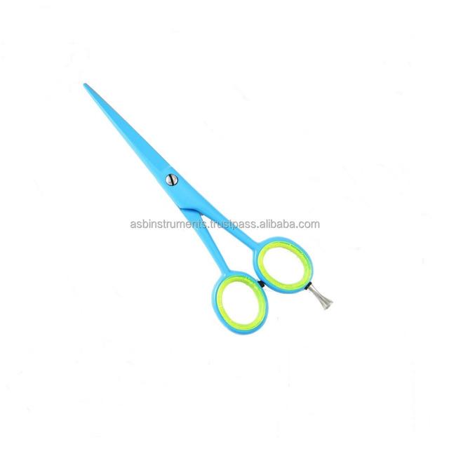 NEW 2018 Sky blue color Professional Barber Scissor,Hair cutting scissor,Barber Hair Razor Scissors