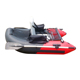 One Person Inflatable Fishing Boat with Oar,Belly Boat