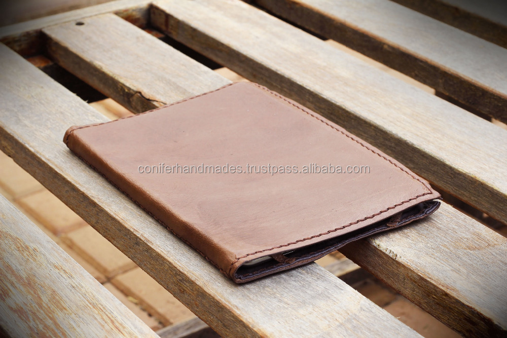 custom made leather tablet covers in custom made sizes also available with logo print