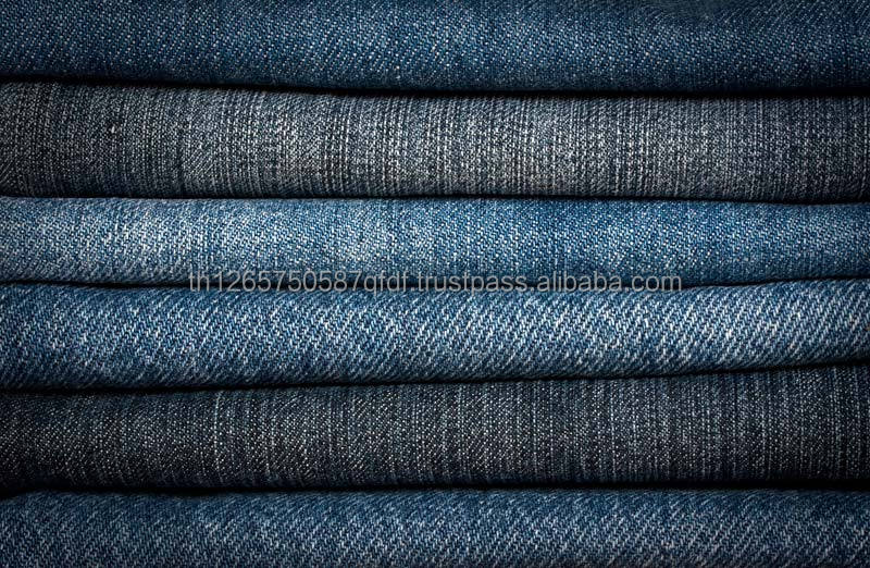 100% Cotton Fabric -Wholesale Denim jeans Fabric