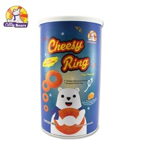 80g Candy Bears Hot Selling Super Cheesy Ring Snack