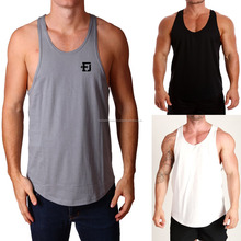 Men Bodybuilding 100% Cotton Gym Singlets