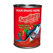 Easy Stackable Sardines in Tomato Sauce with Chili