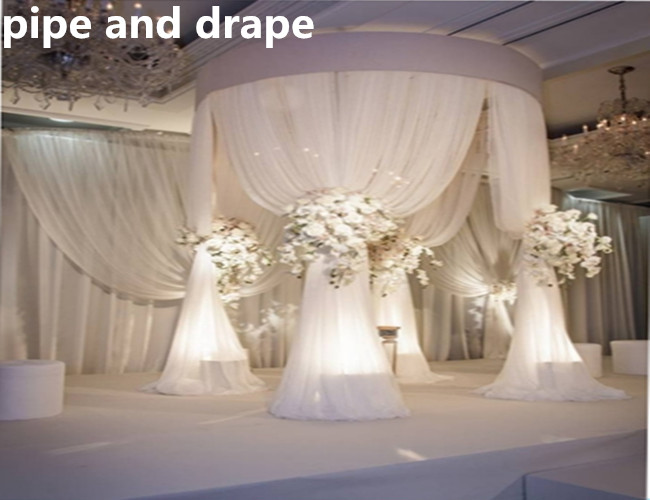 exhaust portable new pipe and drape innovative system for wedding party indoor outdoor