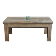 Classic coffee table antique recycled teak wood indoor Jepara furniture