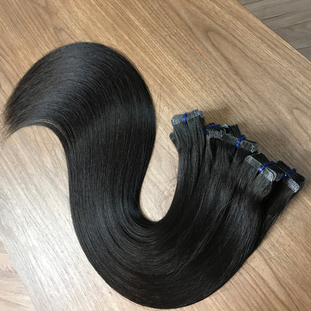 Tape In Hair Extensions 100% Remy Human Hair Extensions