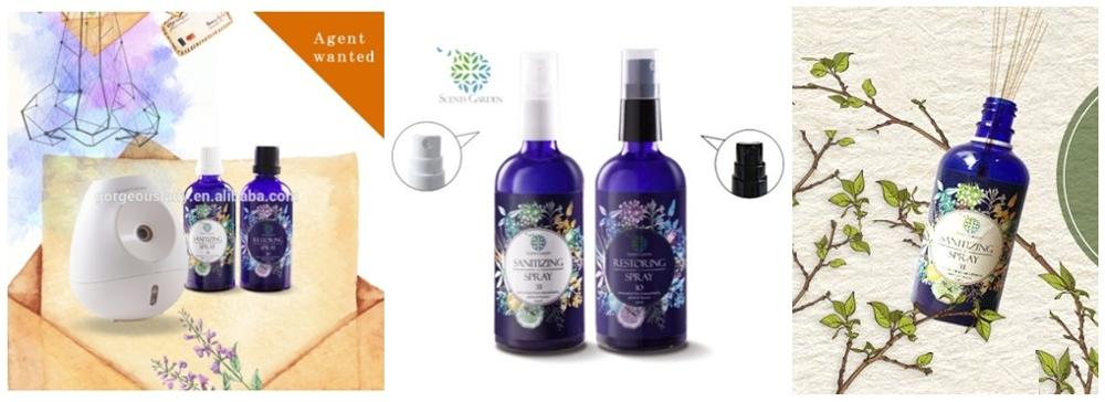 NEW Aromatherapy grade Blend essential oil natural extracted branded perfume Christmas Gift Set