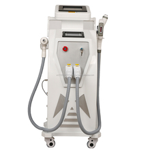 2017 hot sale e-light ipl rf nd yag laser 4 in 1/ipl hair removal/laser tattoo removal machine