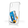 sticky phone case for various iPhone models goo.ey House Icon Design - recorder