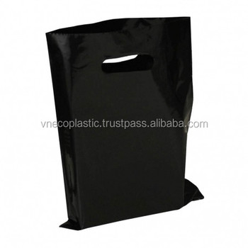 Hot sale custom printed HDPE/ LDPE Die-cut Plastic Shopping Bag