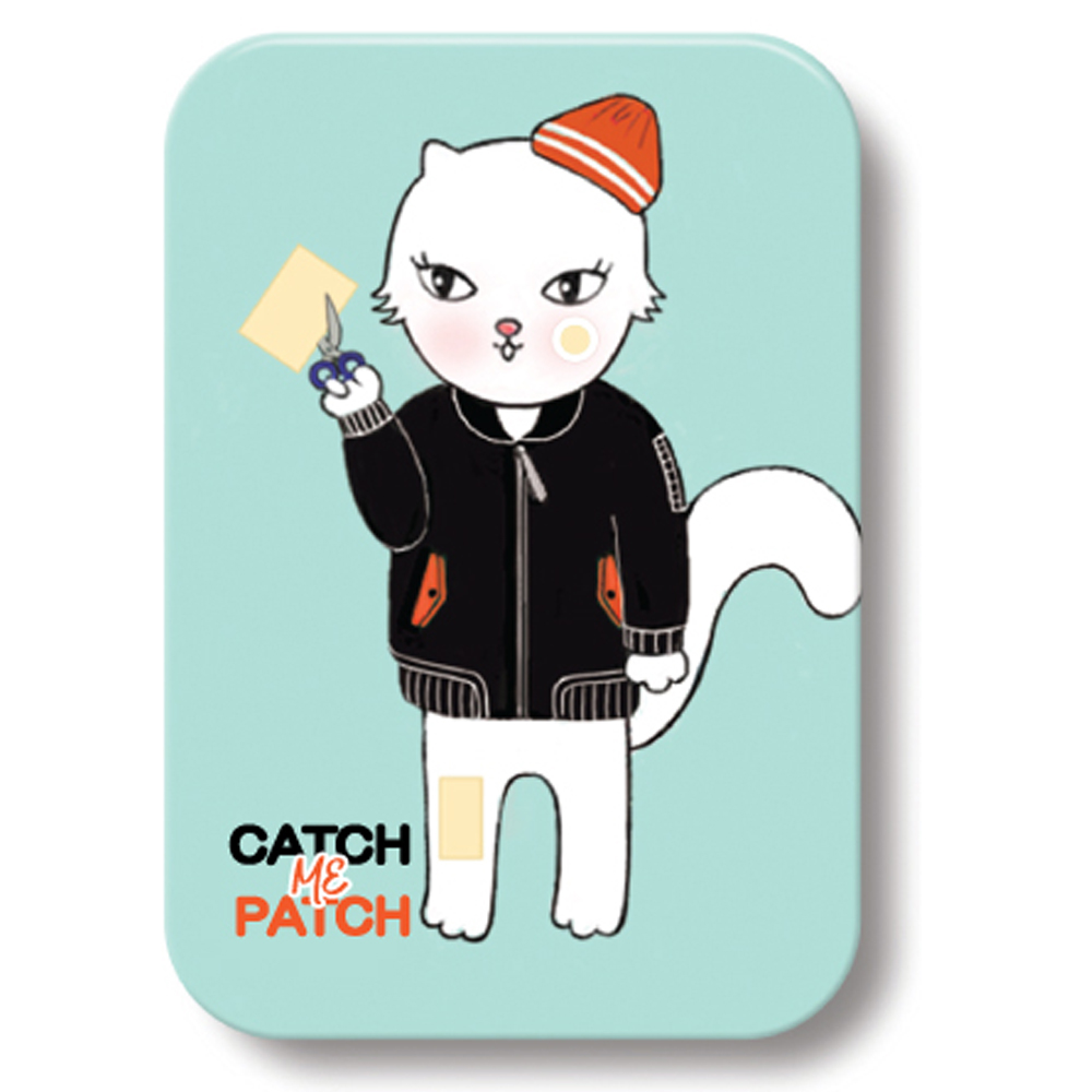 Supper Quality Catch me patch Spot / Multi cutting type tin case