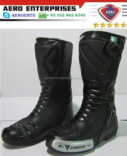 latest brand Motorcycle leather Long Boot