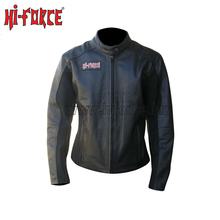 Women Racing Leather Armor Motorcycle Riding Jacket