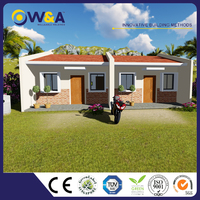 (WAS1005-36D)China Low Cost Houses Prefabricated Modular Homes for Accommodation