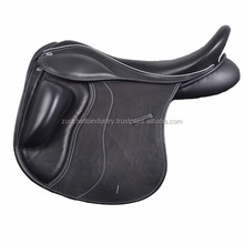 Black color dressage with beautiful hand carved/horse saddle/dressage sadldes/saddle horse