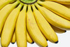 Fresh Ripe Banana, Raw Cavendish Banana, yellow, plantains, ripe, planty, farm, Fruits, vegetables, vitamins, iron