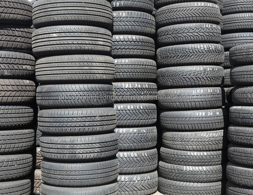 Used car and truck tires from Germany